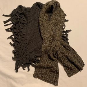 Bundle of 2 Scarves, infinity and wrap